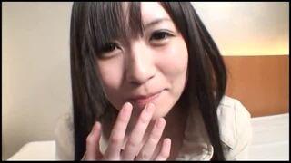 bimajo 9215 1 - 天使降臨☆黒髪ロングのスレンダー美少女がプロ男優の肉棒2本掴んでガチ3Pの一本勝負!