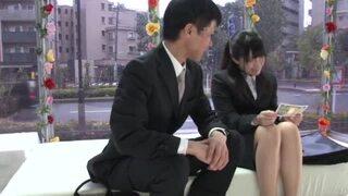 bimajo 9228 1 - 【MM号】新人OLが謝礼アリでガチ上司と即パコ!カワイイ喘ぎ声で中出し確定!